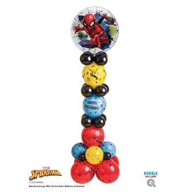 PARTY SHOP BOUQUET COLONNE DE BALLONS SPIDERMAN