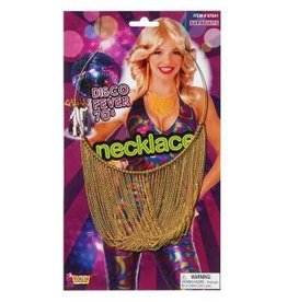 Forum Novelty GOLD CHAIN DISCO NECKLACE