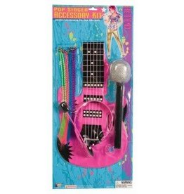 Forum Novelty 80'S POP SINGER ACCESSORY KIT