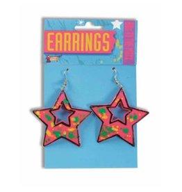 Forum Novelty 80'S STAR EARRINGS