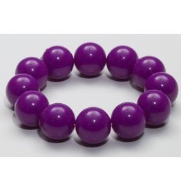 Forum Novelty BRACELET BILLES GEANTES -MAUVE
