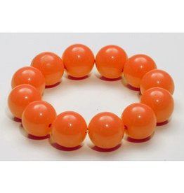 Forum Novelty BRACELET BILLES GEANTES -ORANGE