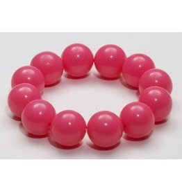 Forum Novelty BRACELET BILLES GEANTES -ROSE