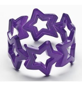 Forum Novelty NEON STAR BANGLE-PURPLE