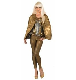 Forum Novelty CAPE-FUTURISTIC-GOLD