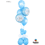 PARTY SHOP BABY SHOWER #10 BALLOON BOUQUET