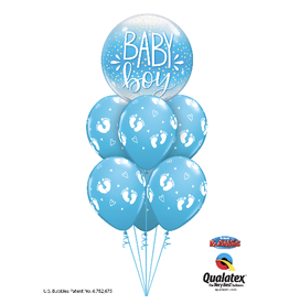 PARTY SHOP MONTAGE BALLONS #13 - BABY SHOWER
