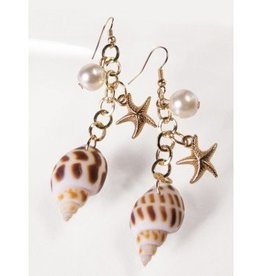 Forum Novelty BOUCLES D'OREILLES SIRENE