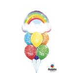 PARTY SHOP BALLOONS BOUQUET #14 - GÉNÉRAL RAINBOW