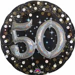 Anagram BALLON MYLAR SUPERSHAPE - 50 ANS 3D