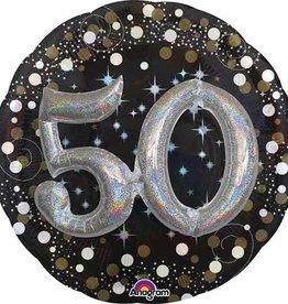 Anagram BALLON MYLAR 50 ANS 3D