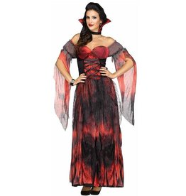FUN WORLD COSTUME ADULTE VAMPIRE COUNTESSA
