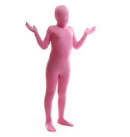 MORPHSUITS COSTUME MORPHSUIT ENFANT ROSE LARGE