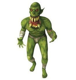 MORPHSUITS COSTUME MORPHSUIT ENFANT ORC JAW DROPPER LARGE