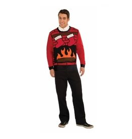 Forum Novelty CHRISTMAS EVE SWEATER-XL