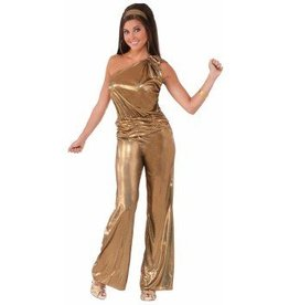 Forum Novelty CO-DISCO-SOLID GOLD LADY-STD