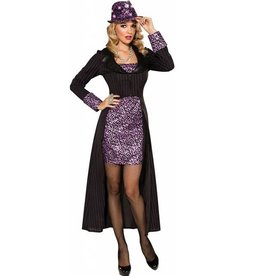 RUBIES COSTUME ADULTE MOB MOLLY