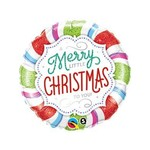 Qualatex BALLON MYLAR 18PO - A MERRY LITTLE CHRISTMAS TO YOU!