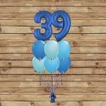 PARTY SHOP MONTAGE BALLONS #25 - NOMBRES BLEUTÉS
