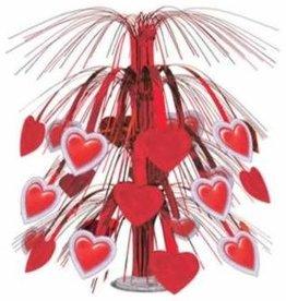 Beistle Co. Lace Heart Cascade Centerpiece