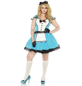 *COSTUME ADULTE ALICE CONTE DE FEE