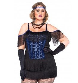 Leg Avenue COSTUME FLAPPER GATSBY PLUS SIZE