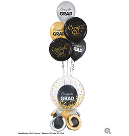 PARTY SHOP MONTAGE BALLONS - GRADUATION #9