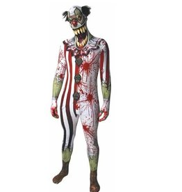 MORPHSUITS COSTUME MORPHSUIT CLOWN BOUCHE PENDANTE