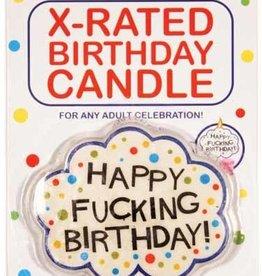 LITTLE GENIE CHANDELLES - X-RATED BIRTHDAY