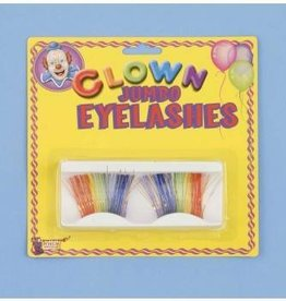 Forum Novelty JUMBO LASHES-RAINBOW