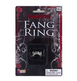 Forum Novelty VAMPIRE FANGS RING-UNISEX