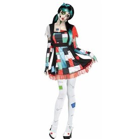 FUN WORLD COSTUME ADULTE RAG DOLL - POUPÉE DE CHIFFON