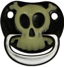 BILLY BOB SUCE BILLY BOB PACIFIER - BLACK PIRATE