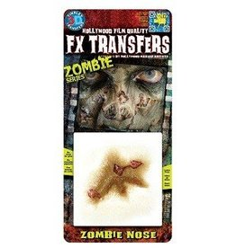 TINSLEY PROTHESE FX TRANSFERS - ZOMBIE NOSE