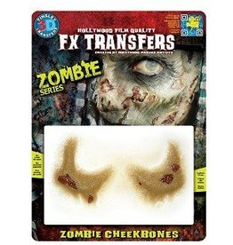 TINSLEY PROTHESE FX TRANSFERS - ZOMBIE -POMMETTES