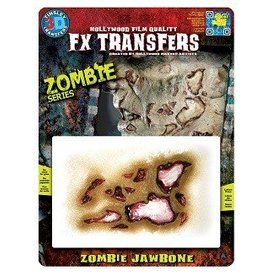 TINSLEY PROTHESE FX TRANSFERS - ZOMBIE JAW BONE