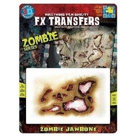 TINSLEY PROTHESE FX TRANSFERS - ZOMBIE JAW BONE