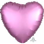 Anagram BALLON MYLAR 18PO - COEUR SATIN - ROSE FLAMINGO