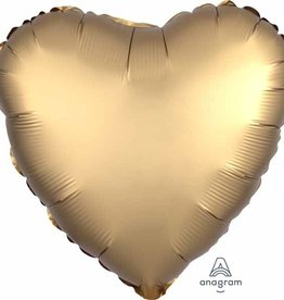 Anagram MYLAR 18 PO COEUR SATIN - OR