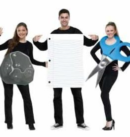 FUN WORLD *COSTUME ROCHE PAPIER CISEAUX