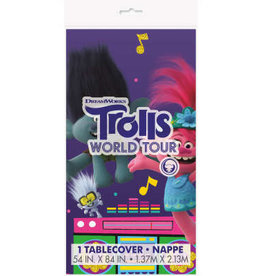 Unique NAPPE EN PLASTIQUE - TROLLS WORLD TOUR