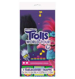 Unique NAPPE EN PLASTIQUE - TROLLS WORLD TOUR