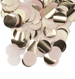 SKD PARTY CONFETTI MÉTALLIQUES (0.8OZ) - ROSEGOLD / MULTI