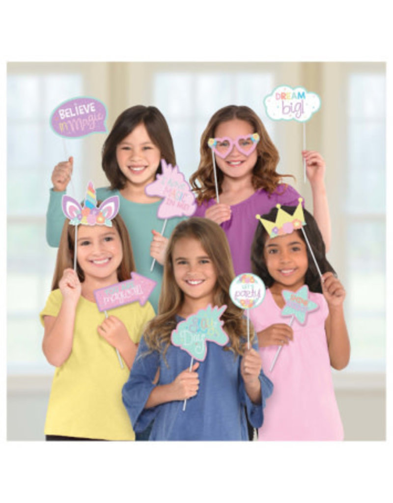 Amscan *ACCESSOIRES PHOTO- LICORNE PARTY TIME