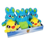 IMPORTS DRAGON PELUCHE 11PO ASSORTIE LAPIN OU CANARD TOY STORY