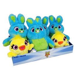 IMPORTS DRAGON *PELUCHE 11PO ASSORTIE LAPIN OU CANARD TOY STORY