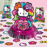 Unique ENSEMBLE DE DÉCORATIONS POUR TABLE - HELLO KITTY