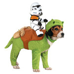 RUBIES COSTUME POUR ANIMAUX - STAR WARS - DEWBACK AVEC SANDTROOPER