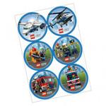 Anagram AUTOCOLLANTS (24) - LEGO CITY