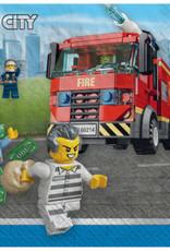 Amscan SERVIETTES À COCKTAIL (16) - LEGO CITY